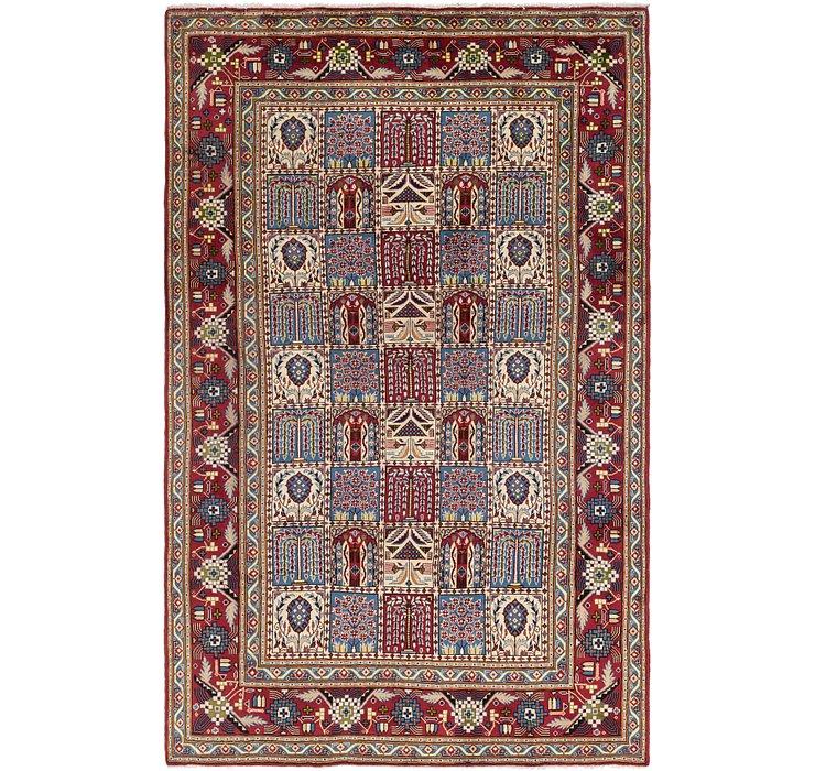 6' 5 x 10' 4 Isfahan Persian Rug