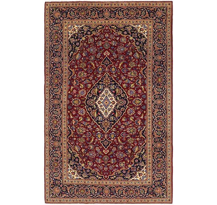 6' 8 x 10' 8 Kashan Persian Rug