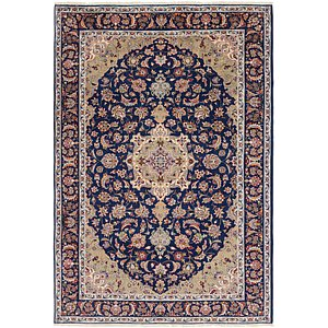 Unique Loom 7' 9 x 11' 6 Isfahan Persian Rug