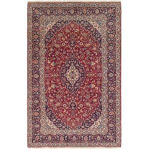 8' x 12' 9 Kashan Persian Rug