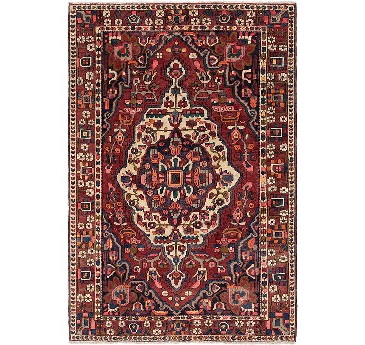 6' 9 x 10' 3 Bakhtiari Persian Rug