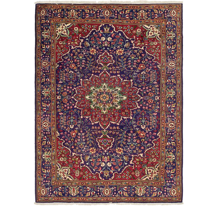 6' 9 x 9' 8 Tabriz Persian Rug