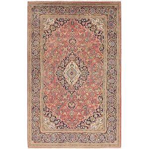 6' 5 x 10' 9 Kashan Persian Rug