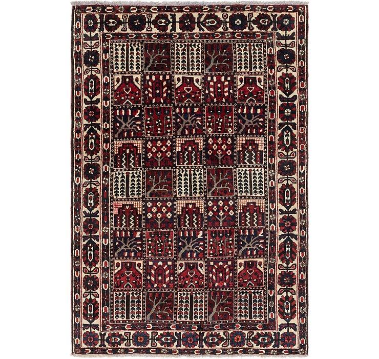 6' 9 x 10' 2 Bakhtiari Persian Rug