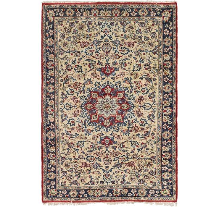 213cm x 312cm Isfahan Persian Rug