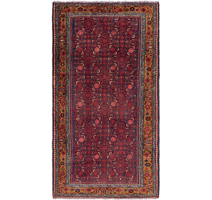 5' 2 x 9' 9 Shahsavand Persian Rug