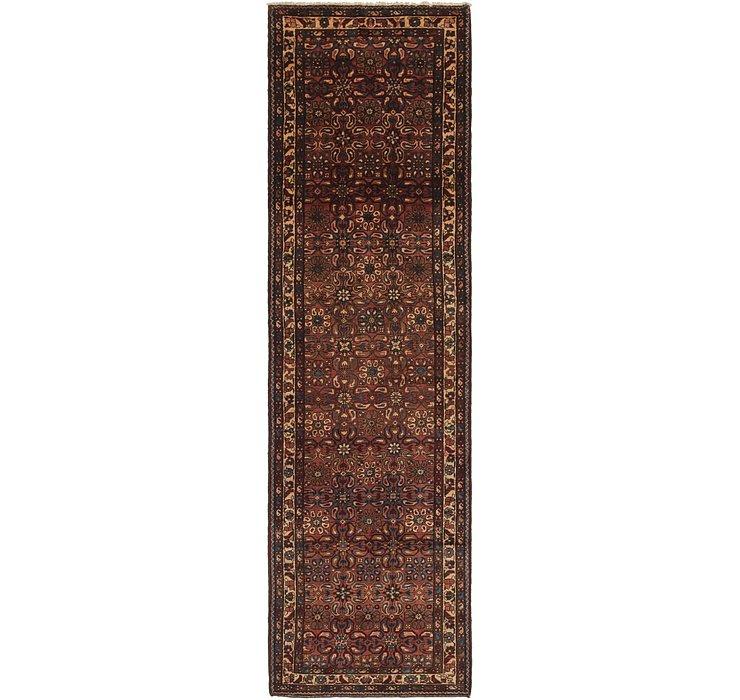 3' 8 x 13' 3 Shahsavand Persian Runn...