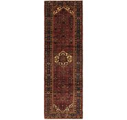 Link to 107cm x 343cm Hossainabad Persian Runner Rug