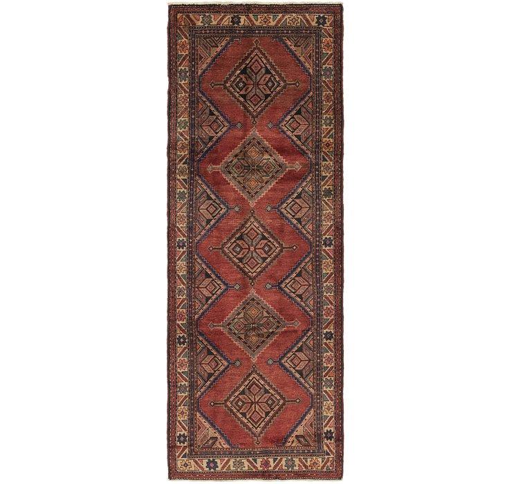 3' 7 x 10' Chenar Persian Runner Rug