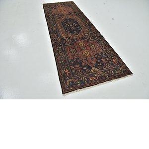Unique Loom 3' 6 x 9' 10 Zanjan Persian Runner Rug