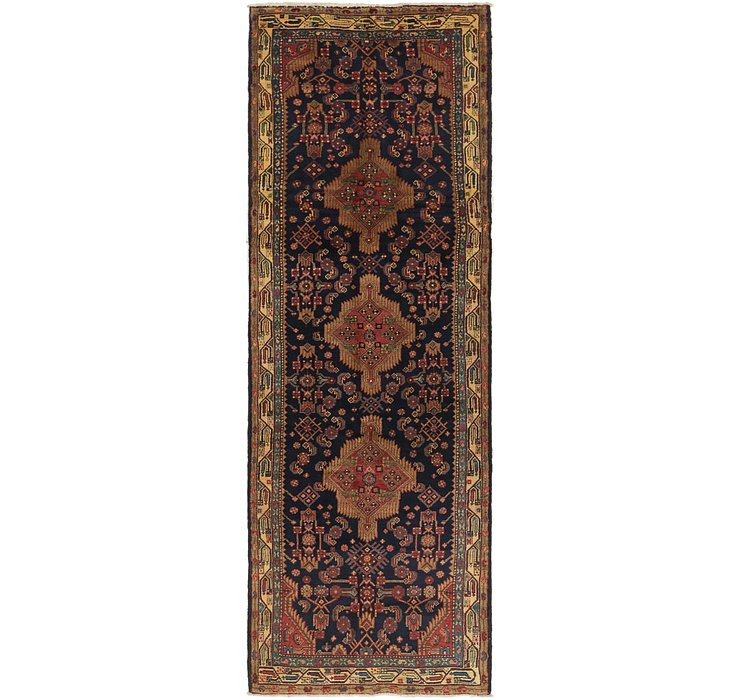 3' 7 x 11' 4 Darjazin Persian Runner...