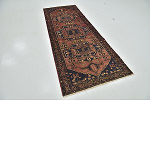 Unique Loom 3' 6 x 9' 3 Zanjan Persian Runner Rug