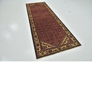 Unique Loom 3' 7 x 10' 4 Hossainabad Persian Run...