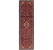 Link to 2' 9 x 9' 9 Hossainabad Persian Runner Rug