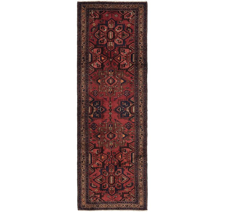 3' 5 x 10' 4 Khamseh Persian Runner ...