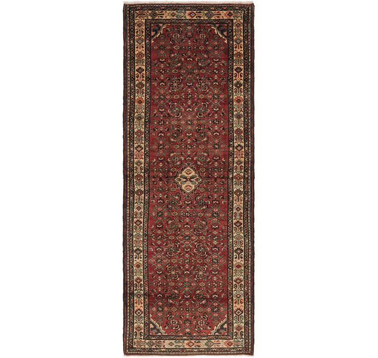 122cm x 340cm Hossainabad Persian Run...