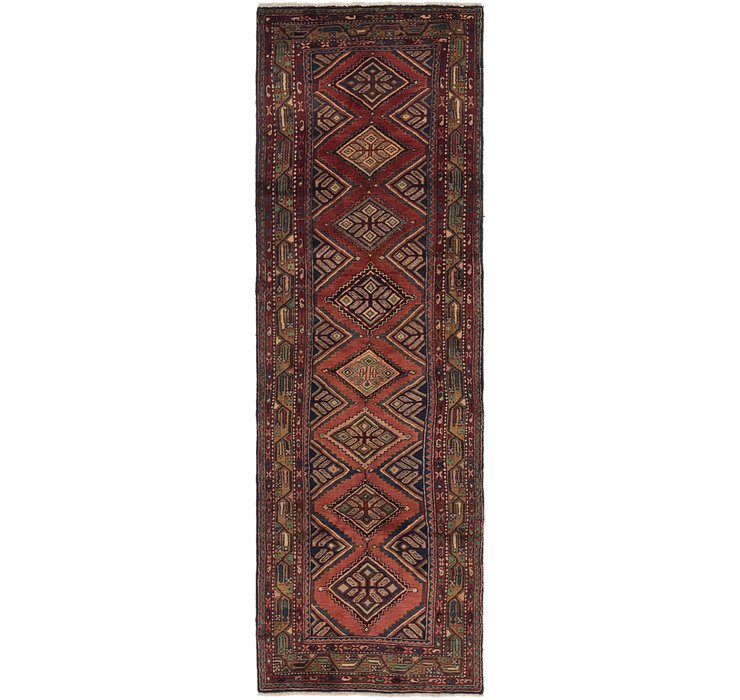 3' 4 x 10' 9 Chenar Persian Runner Rug