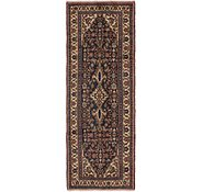 Link to 3' 5 x 10' 3 Hamedan Persian Runner Rug