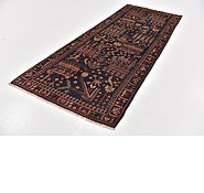 Link to 3' 7 x 9' 5 Roodbar Persian Runner Rug