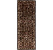 Link to 122cm x 330cm Hossainabad Persian Runner Rug