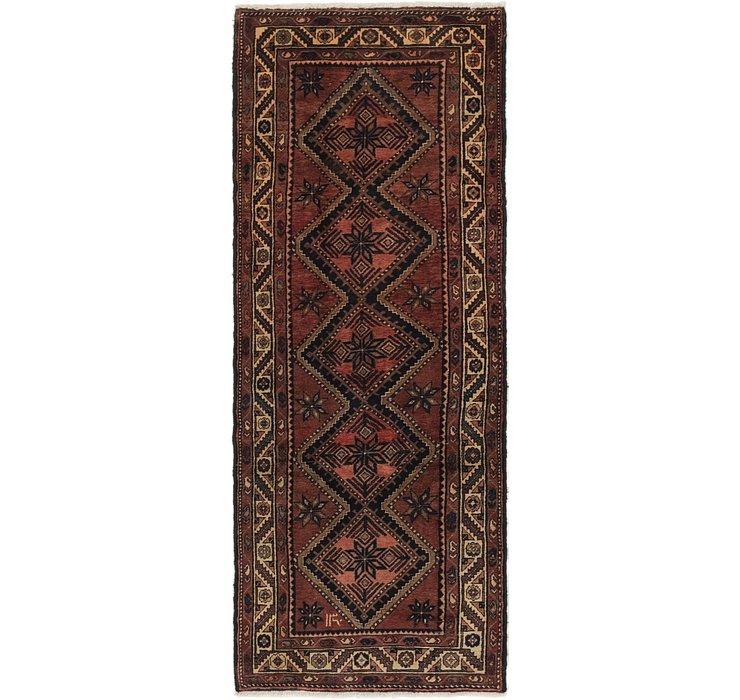3' 8 x 9' 9 Chenar Persian Runner Rug