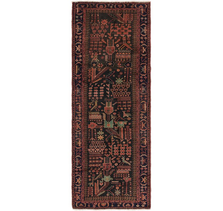 3' 7 x 10' Roodbar Persian Runner ...
