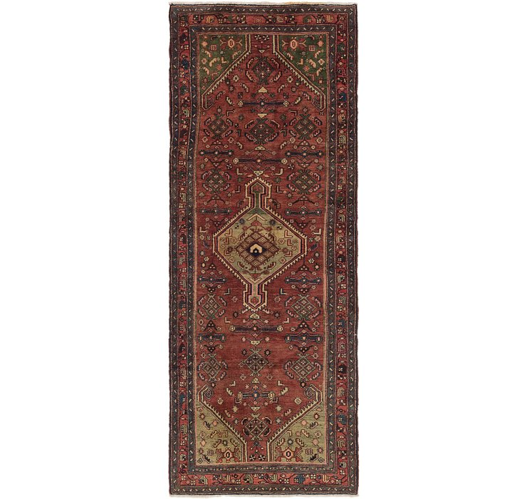 3' 6 x 9' 8 Darjazin Persian Runner...
