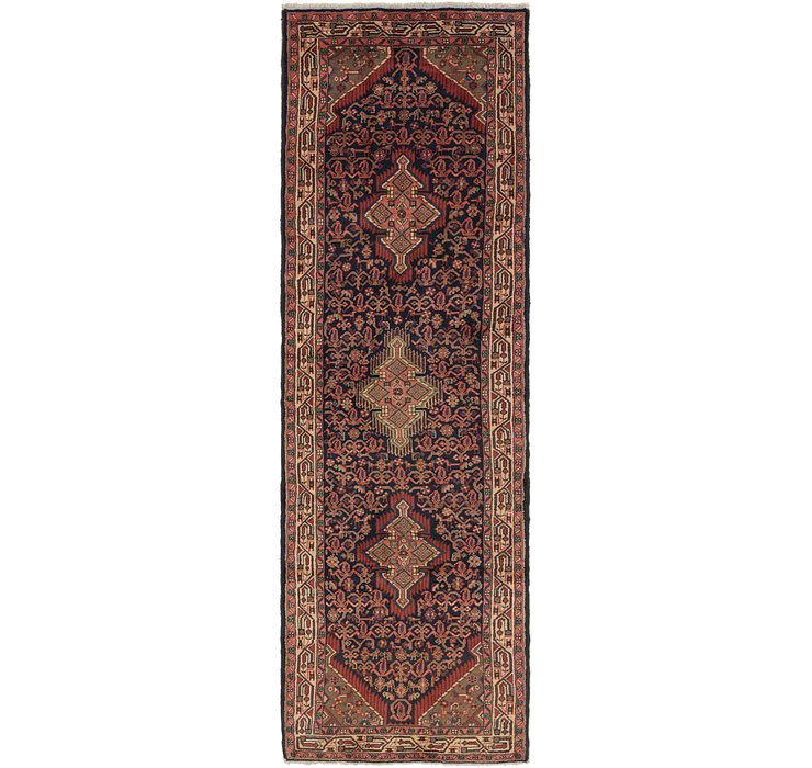 3' 3 x 10' 5 Darjazin Persian Runner...
