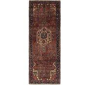 Link to 110cm x 300cm Hamedan Persian Runner Rug