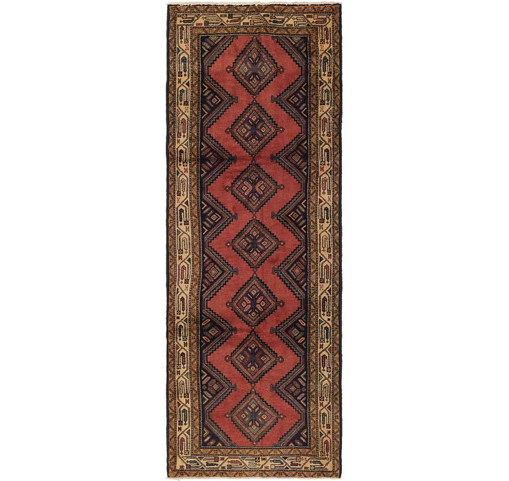 107cm x 300cm Chenar Persian Runner Rug