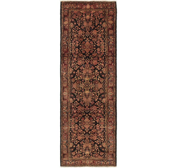 3' 6 x 10' 7 Borchelu Persian Runner...
