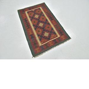 Link to 80cm x 127cm Kilim Maymana Rug item page