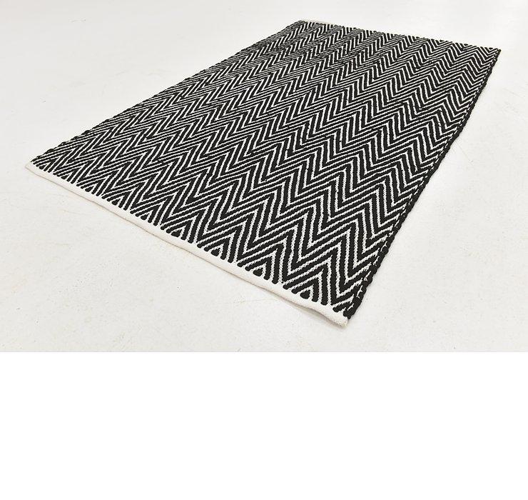 4' x 6' 2 Chindi Cotton Rug