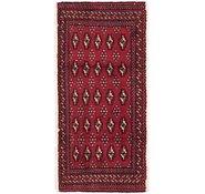 Link to 2' x 4' 3 Torkaman Persian Rug