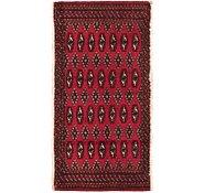 Link to 1' 10 x 3' 9 Torkaman Persian Rug