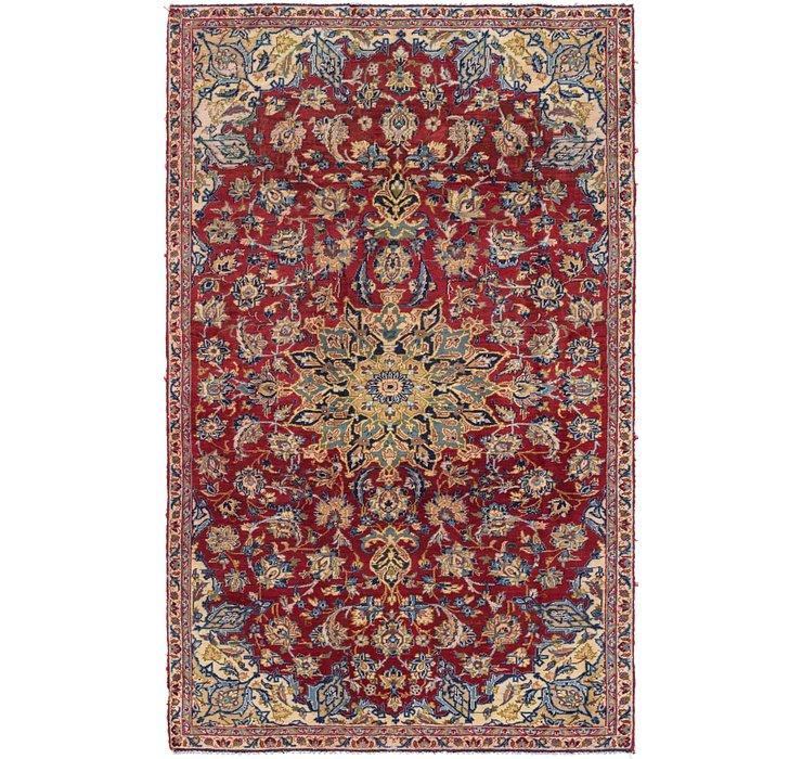 5' x 8' 5 Isfahan Persian Rug
