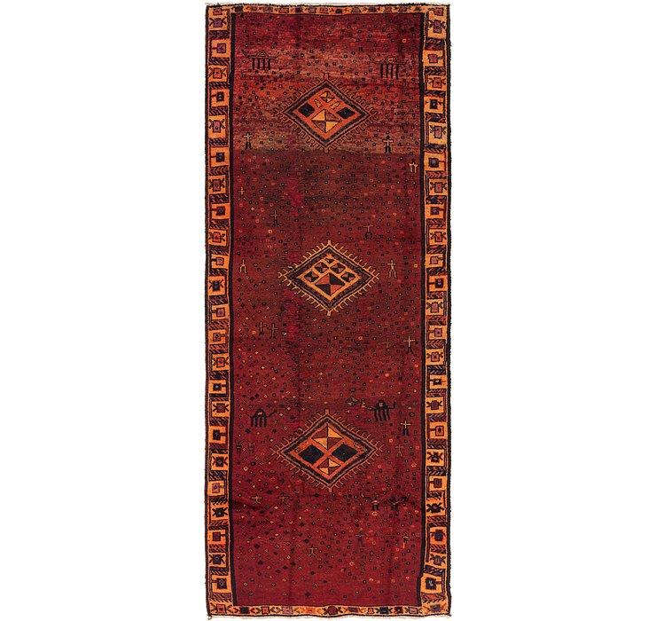 4' 5 x 11' 10 Shiraz Persian Runner Rug