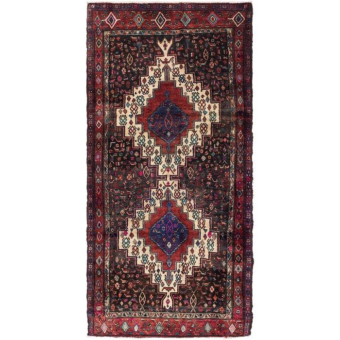 4' 3 x 8' 7 Senneh Persian Runner Rug