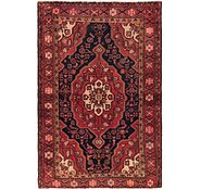 Link to 4' 6 x 6' 10 Hossainabad Persian Rug