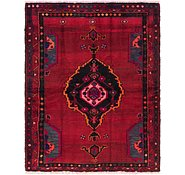 Link to 4' 10 x 5' 10 Shiraz Persian Square Rug