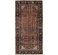 Link to 140cm x 285cm Hossainabad Persian Runner Rug