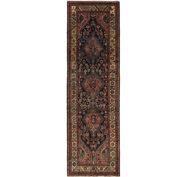 3' 5 x 11' 4 Darjazin Persian Runner...
