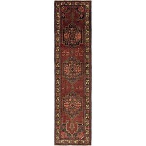 102cm x 405cm Saveh Persian Runner Rug