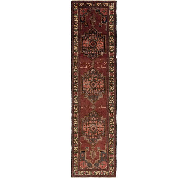 3' 4 x 13' 3 Saveh Persian Runner Rug