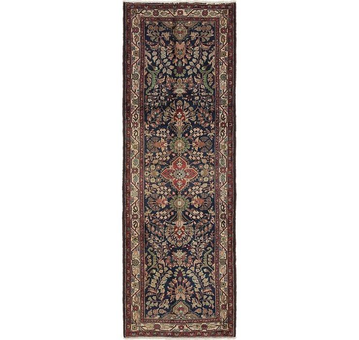 3' 7 x 10' 7 Nanaj Persian Runner Rug