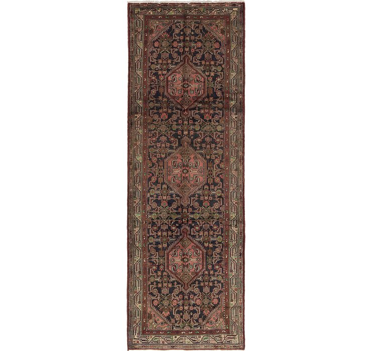 3' 10 x 11' Darjazin Persian Runner...
