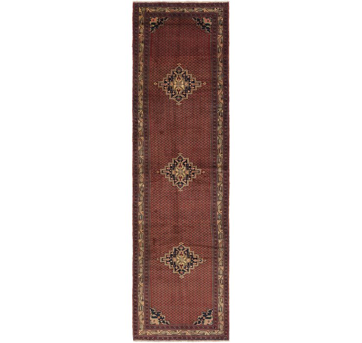 3' 10 x 13' 6 Shahsavand Persian Runn...