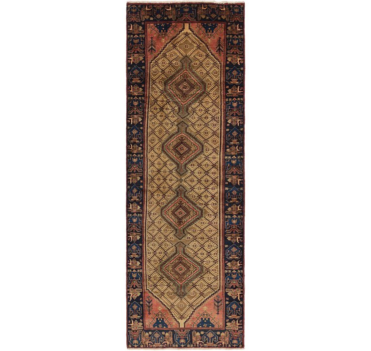 3' 9 x 12' 2 Koliaei Persian Runner ...