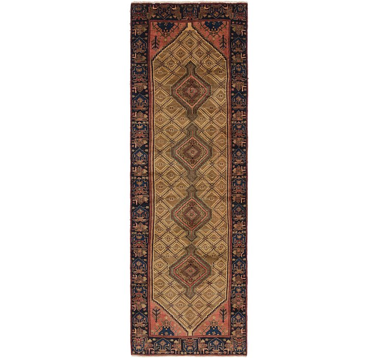 3' 9 x 12' 10 Koliaei Persian Runner ...