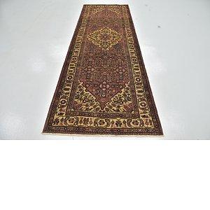 Unique Loom 3' 6 x 9' 8 Hossainabad Persian Run...